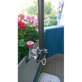 image-Stainless Steel Mounted Umbrella Stand Freeport Park