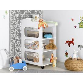 image-Soho Changing Table Sofamo Colour: White