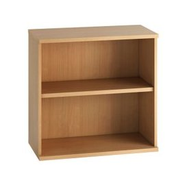 image-Astrada 1 Shelf Bookcase (Beech), Beech, Free Next Day Delivery