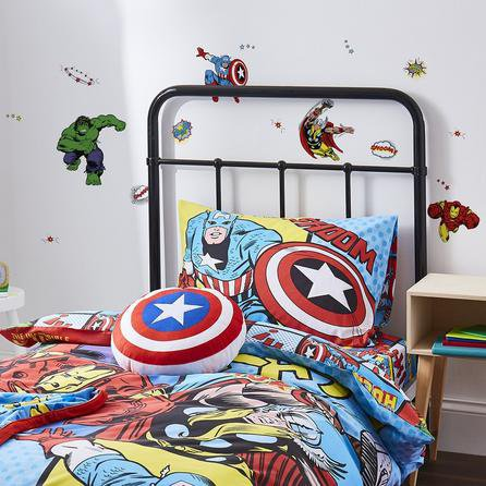 image-Disney Marvel Comics Wall Stickers Red/Blue/Green