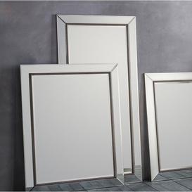 image-Gallery Direct Regent Leaner Pewter Mirror - H 166cm
