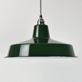 image-35cm Metal Bowl Lamp Shade Williston Forge Finish/Colour: Green