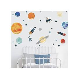 image-little home at John Lewis Outer Space Wall Stickers, Multi