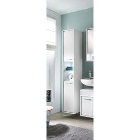image-Graddy 33 x 186cm Wall Mounted Tall Bathroom Cabinet