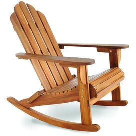 image-Royalcraft Garden Furniture Wooden Vermont Rocking Adirondack Chair