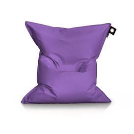 image-Jumbo Bean Bag Lounger Brayden Studio Upholstery Colour: Purple