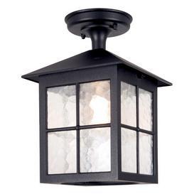 image-Elstead BL18A Winchester exterior, black, flush porch lantern, IP23