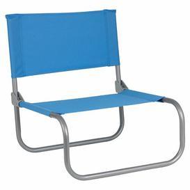 image-McCook Folding Beach Chair Dakota Fields Colour: Blue