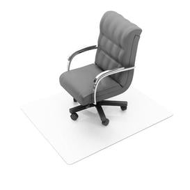 image-Cleartex Ultimat Polycarbonate Chair Mat for Hard Floor Floortex Size: Square 120cm