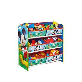 image-Mickey Mouse Kids Toy Storage Unit