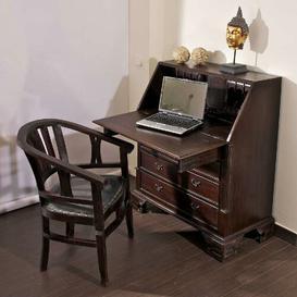 image-Hubert Secretary Desk Ophelia & Co. Colour: Dark brown
