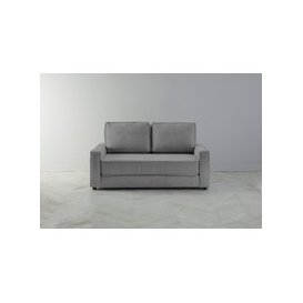 image-Dacre Three-Seater Sofabed in Proper Grey