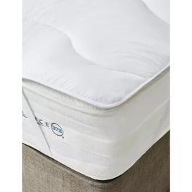 image-M&S Body Sensor Mattress Topper - 6FT - White, White