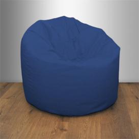 image-Water Resistant Medium Classic Bean Bag Chair Ebern Designs Upholstery Colour: Blue