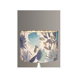 image-John Lewis & Partners Bloom Floral Lampshade, Blue
