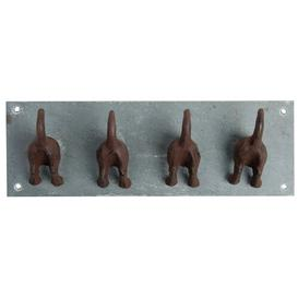 image-Dog Tail Wall Mounted Coat Hook Symple Stuff
