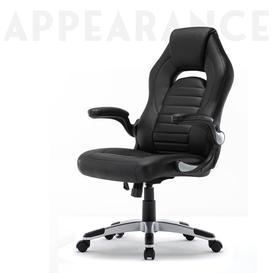 image-High Back Gaming Chair, Ergonomic Fabric Computer Racing Chair