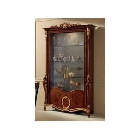 image-Arredoclassic Donatello 2 Door Glass Display Cabinet