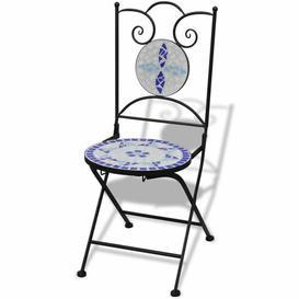 image-Bessette Folding Garden Chair Dakota Fields