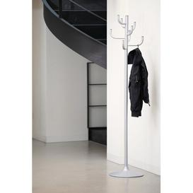 image-Dominik Coat Stand Mercury Row Colour: White varnished