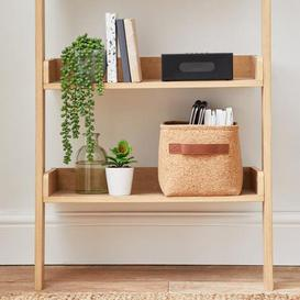 image-Small Cork Storage Basket Natural