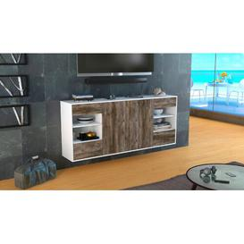 image-Thetford Sideboard Brayden Studio Colour (Body/Front): White Mat/Driftwood