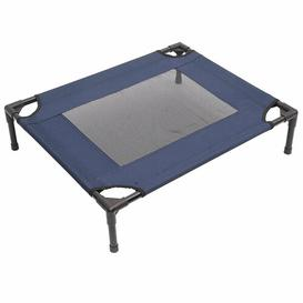 image-Edwina Cot Bed in Blue and Black