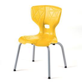 image-Children's chair ALDA I, H 350 mm, yellow