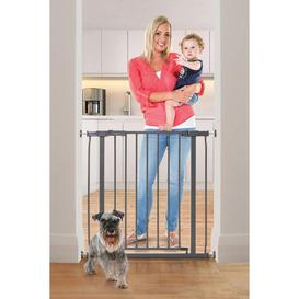 image-Ava Metal Safety Gate - Pressure Mounted
