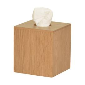 image-Ashford Tissue Box Cover Natur Pur Finish: Natural Oak
