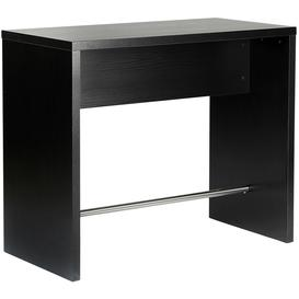 image-Foggia Black Ash Bar Table