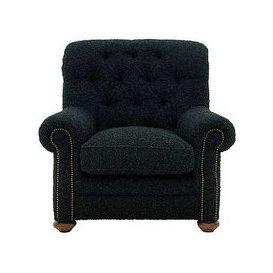 image-Alexander and James - Camden Collection Bobo Fabric Armchair - Green