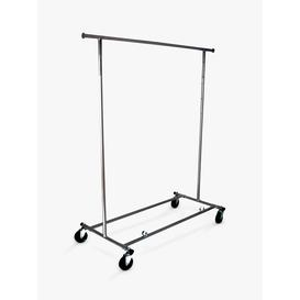 image-John Lewis & Partners Chrome Collapsible Clothes Rail