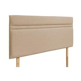 image-Libby Upholstered Headboard Brambly Cottage Colour: Oatmeal, Size: Kingsize (5')