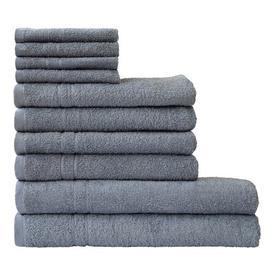 image-10 Piece Towel Bale Wayfair BasicsΓäó Colour: Grau