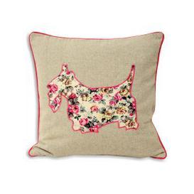 image-Sweet Cottage Scottie Cushion Pink