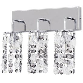 image-Marquis by Waterford - Lagan LED 3 Light Bathroom Wall Light - Chrome
