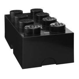 image-Brick Toy Box LEGO Finish: Black
