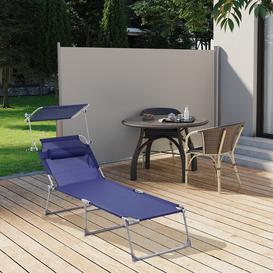 image-Thaney Reclining Sun Lounger Sol 72 Outdoor