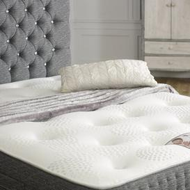 image-Ephraim Memory Natural Pocket Sprung Mattress Marlow Home Co. Size: Double (4'6)