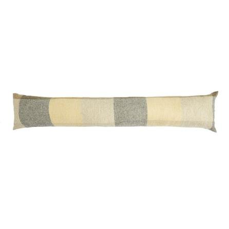 image-Heritage Check Ochre Draught Excluder Ochre