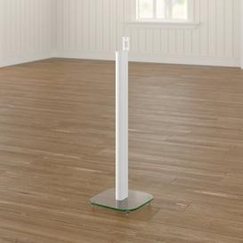 image-Play 1 84.5cm Fixed Height Speaker Stand Symple Stuff Finish: White