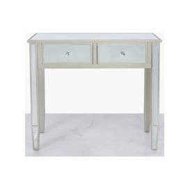 image-Wengen Dark Champagne Console Table