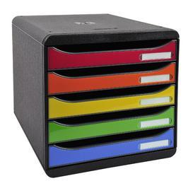 image-Mcclain Desk Organiser Symple Stuff Colour: Black/Red/Blue