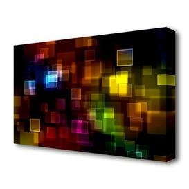 image-'Christmas Haze' Graphic Art on Wrapped Canvas East Urban Home Size: 35.6 cm H x 50.8 cm W