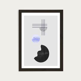 image-Element Art Print Black Frame