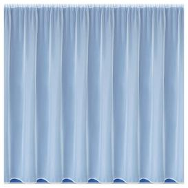 image-Kenton Slot Top Semi Sheer Curtain Brambly Cottage Panel Size: 500 W x 182 D cm