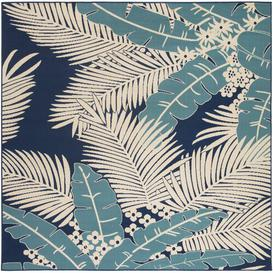 image-Ridley Power Loom Blue Indoor/Outdoor Rug Bay Isle Home Rug Size: Square 239cm