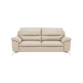 image-Apulia 3 Seater Leather Power Recliner Sofa