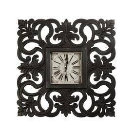 image-Falcon Analog Wall Clock Fleur De Lis Living